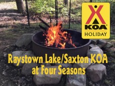 Raystown Lake/Saxton KOA at Four Seasons Logo