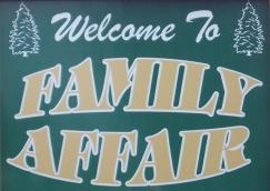Family Affair Campground Logo