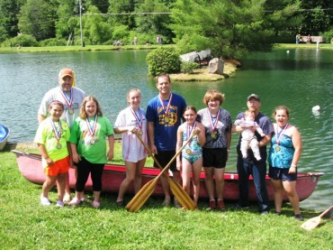 Canoe Race Winners