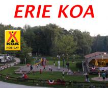 Erie KOA Kampgrounds Logo