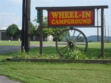 Wheel-In Campground Logo