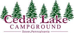 Cedar Lake Campground Logo