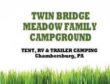 Twin Bridge Meadow Family Campground Logo
