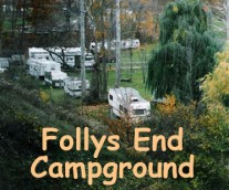 Follys End Campground Logo