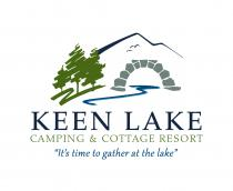 Keen Lake Camping and Cottage Resort Logo