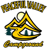 Peaceful Valley Campground Logo