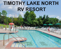 Timothy Lake North RV Resort Logo