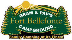 Gram & Pap's Fort Bellefonte Campground Logo
