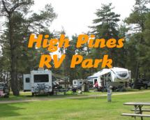 High Pines RV Park Logo
