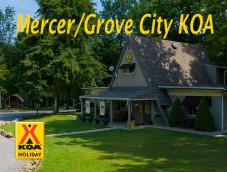 Mercer / Grove City KOA Logo