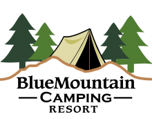 Blue Mountain Camping Resort Logo