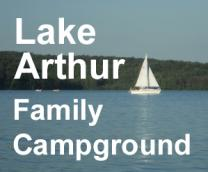 Lake Arthur Family Campground Logo
