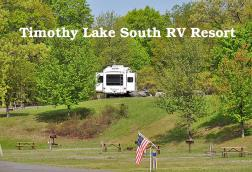 Timothy Lake South RV Resort Logo
