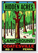 Hidden Acres Campground Logo