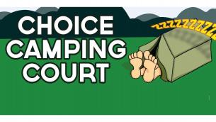 Choice Camping Court Logo