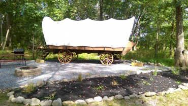 Stay in a Conestoga Wagon