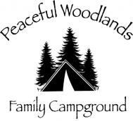 Peaceful Woodlands Family Campground Logo