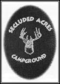 Secluded Acres Campground Logo