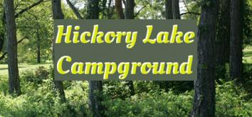 Hickory Lake Campground Logo