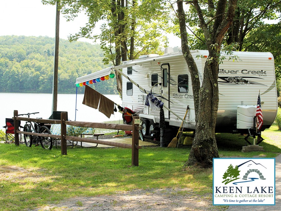 Keen Lake Camping and Cottage Resort - Waymart, Pennsylvania