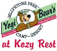 Yogi Bear's Jellystone Park at Kozy Rest Logo