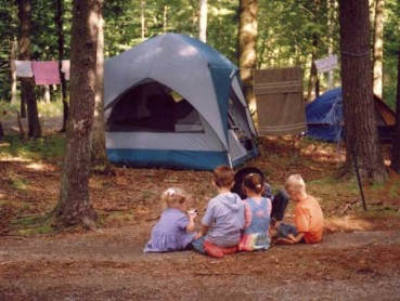 Tent Sites at Wildwood Family Campground