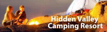 Hidden Valley Camping Resort Logo