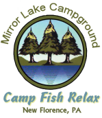 Mirror Lake RV Camping & Fishing Logo