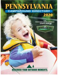 Pennsylvania Campground Owners Association 2020 Campground Directory