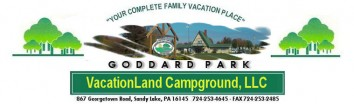 Goddard Park Vacationland Campground Logo