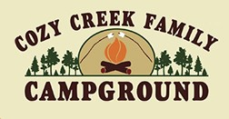 Cozy Creek Family Campground Logo