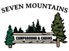 Seven Mountains Campground and Cabins Logo