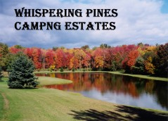 Whispering Pines Camping Estates Logo
