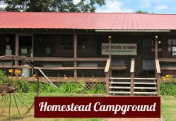 Homestead Campground Logo