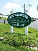 Harrisburg East Campground Logo
