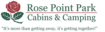 Rose Point Park Cabins & Camping Logo