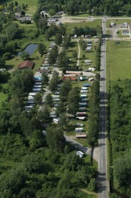 Arial View of Campground