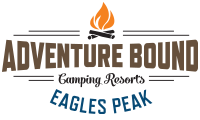 Adventure Bound Camping Resorts at Eagles Peak Logo