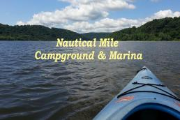 Nautical Mile Campground & Marina Logo